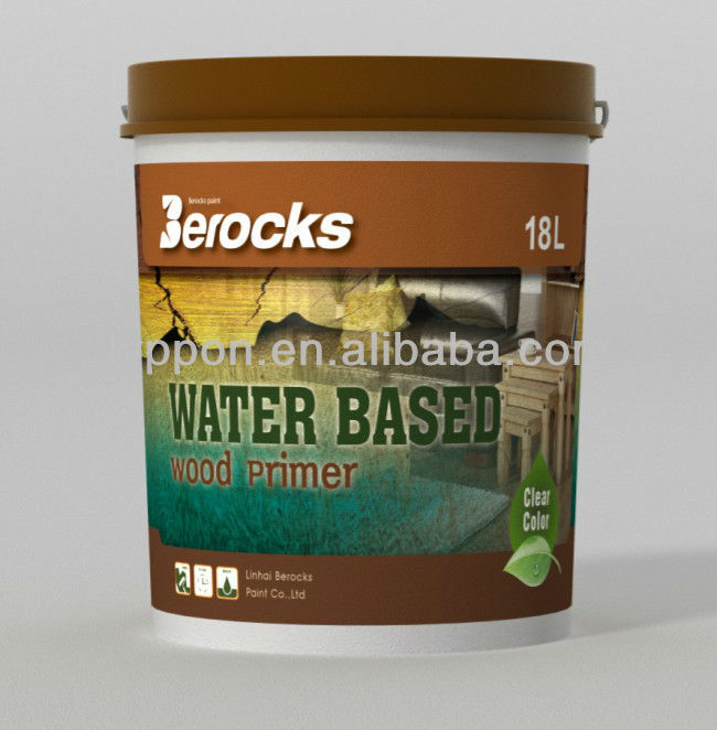 Water based Wood lacquer/Waterborn Wood primer varnish