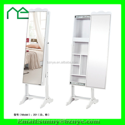 good life furniture cheval mirror floor standing jewelry armoire from China