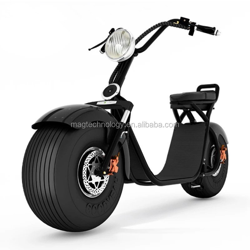 2017 Christmas Gift Citycoco 2 wheel top quality new coming eec electric motorcycle and scooter MAGEE