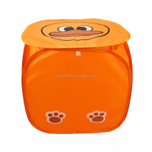 LA051 Customized printed washing laundry hamper duck laundry hamper