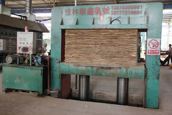 The Full Veneer Laminating Hot Press for Plywood Making Machine 500T