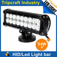 Wholesale cheap 54W LED LIGHT BAR off road led 4x4 offroad lightbar for motorcycle Atv