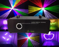 5000MW animation writing laser light laser show system multi color laser light