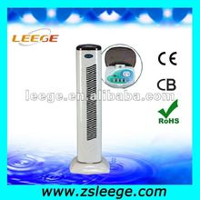 Electric oscillating tower fan