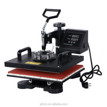 cheap swing head heat transfer machine t-shirt heat press machine