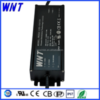 Waterproof IP67 High efficiency 150W adjustable dimmable led driver