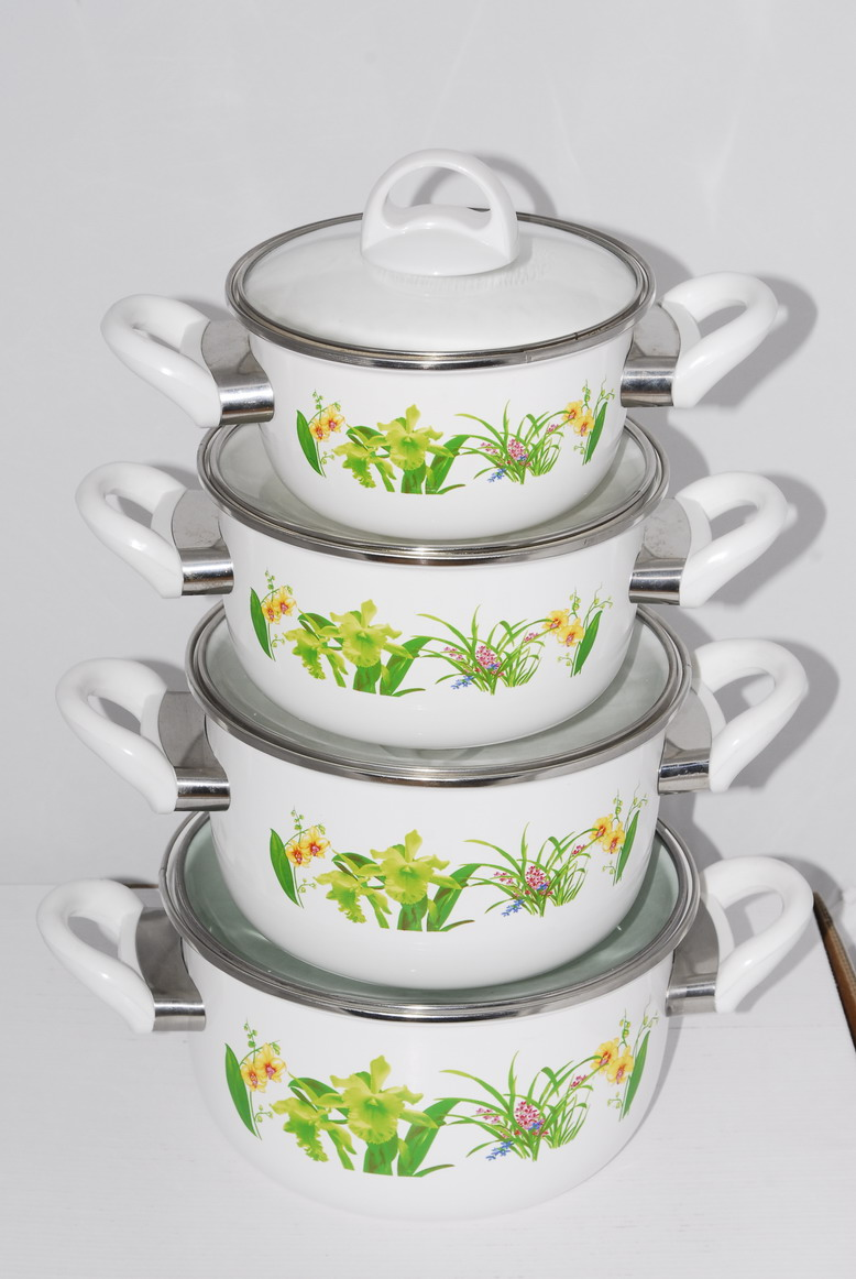 the enamel cookware