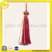 Mixed Color Little Metal Car Tassel