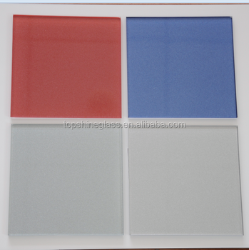 Printed glass with metallic powder / Metallic back painted glass with AS/NZS 2208:1996 and EN12150 certificate