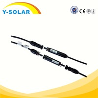 Y-SOLAR TUV&UL Certified MC4 Solar Connector MC4 Connector Compatible for Solar Power System Cable Assembly