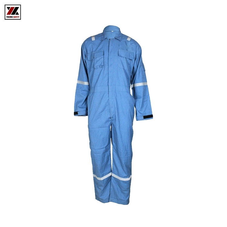 Hot Sale Yulong Flame Retardant Acid Chemical Resistant Protective Clothing