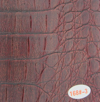 Crocodile pu leather for sofa seat furniture