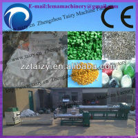 new type widely used pp plastic granules/waste plastic granules shaping machine
