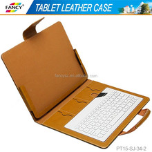 High Quality Bluetooth Wireless Keyboard Leather Case With PU and Microfiber for iPad Pro