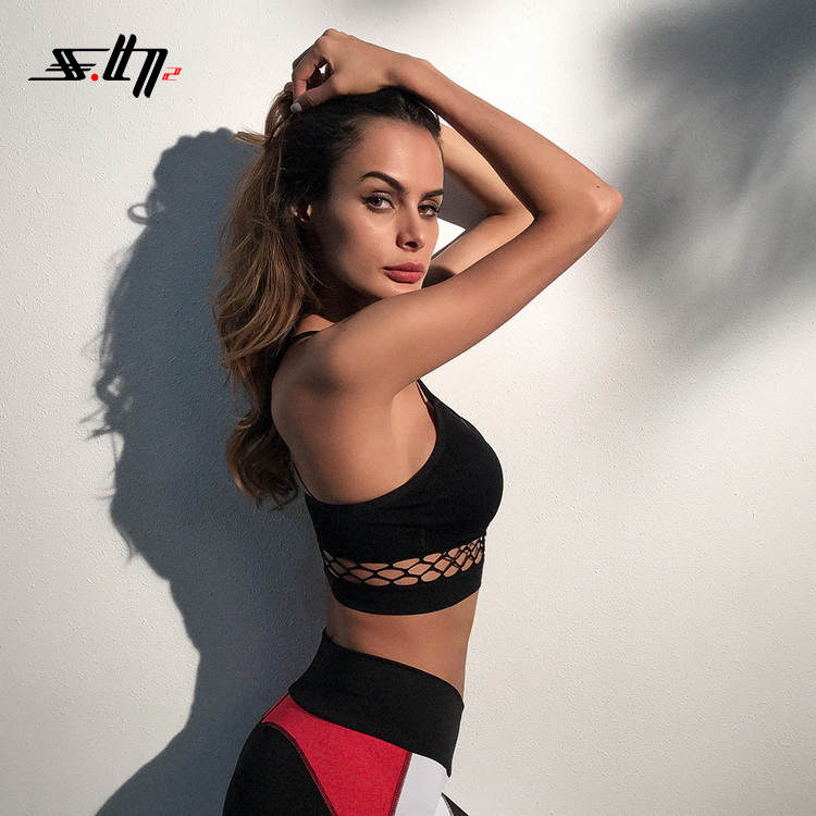 2018 Cheap Custom Gym Wear Ladies Sports Sexy Girl Bra