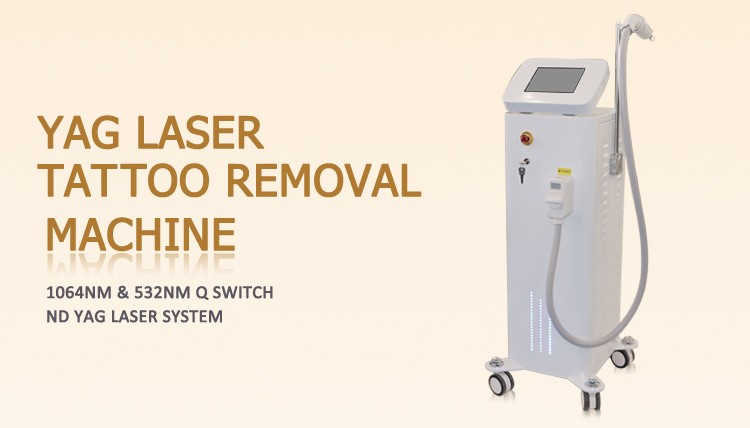 Best laser tattoo treatment machine nd yag tattoo removal laser machine