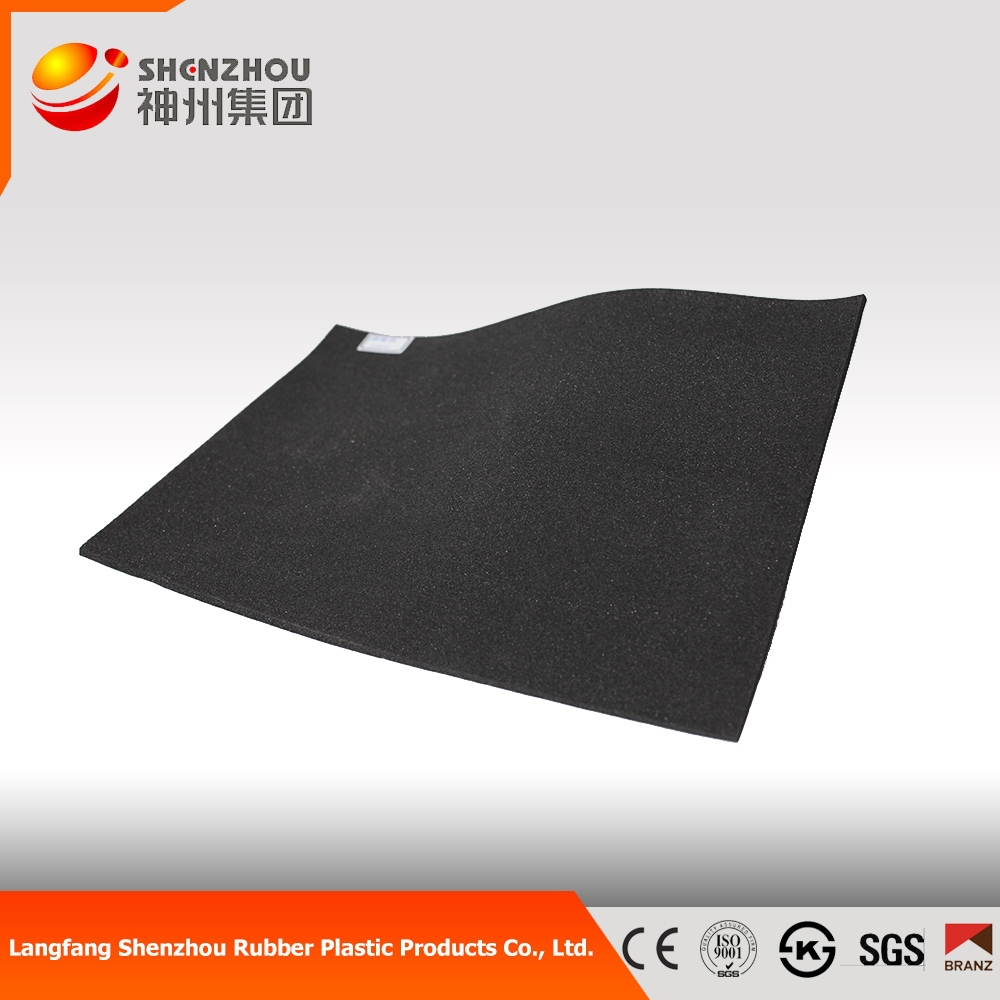 Waterproof super round rubber foam/high density acoustic foam