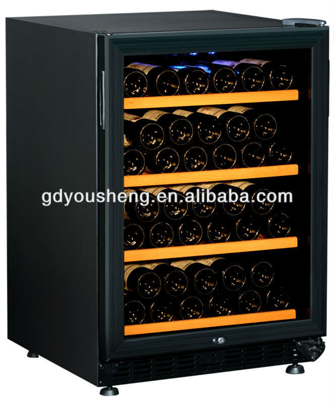 Touch screen control Compressor Wine cellar refrigerator deep freeze for Red wine raki sherry and Champagne