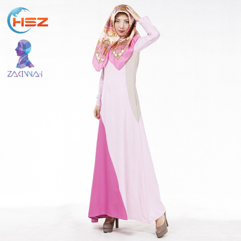 Zakiyyah 604 Simple Pattern Dubai Moroccan Style Abaya Wholesale Front Open Abaya