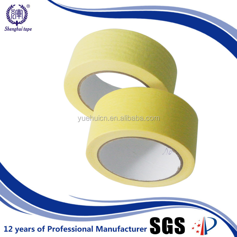 China Alibaba Color Masking Tape with 80 to 90 Degree Centigrade A4 Paper Free Samples