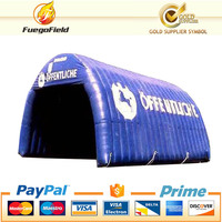 2015! new design inflatable garage tent/durable car roof tent/ giant camping car tent