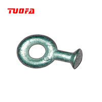 Galvanized drop forged socket clevis eyes / ball clevis in transmission line hardware