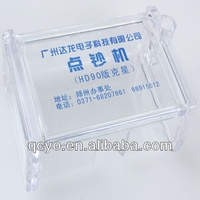 Clear Exquisite acrylic namecard box