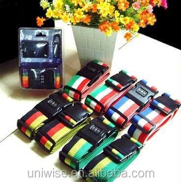 high quality & unlimited colors luggage belt
