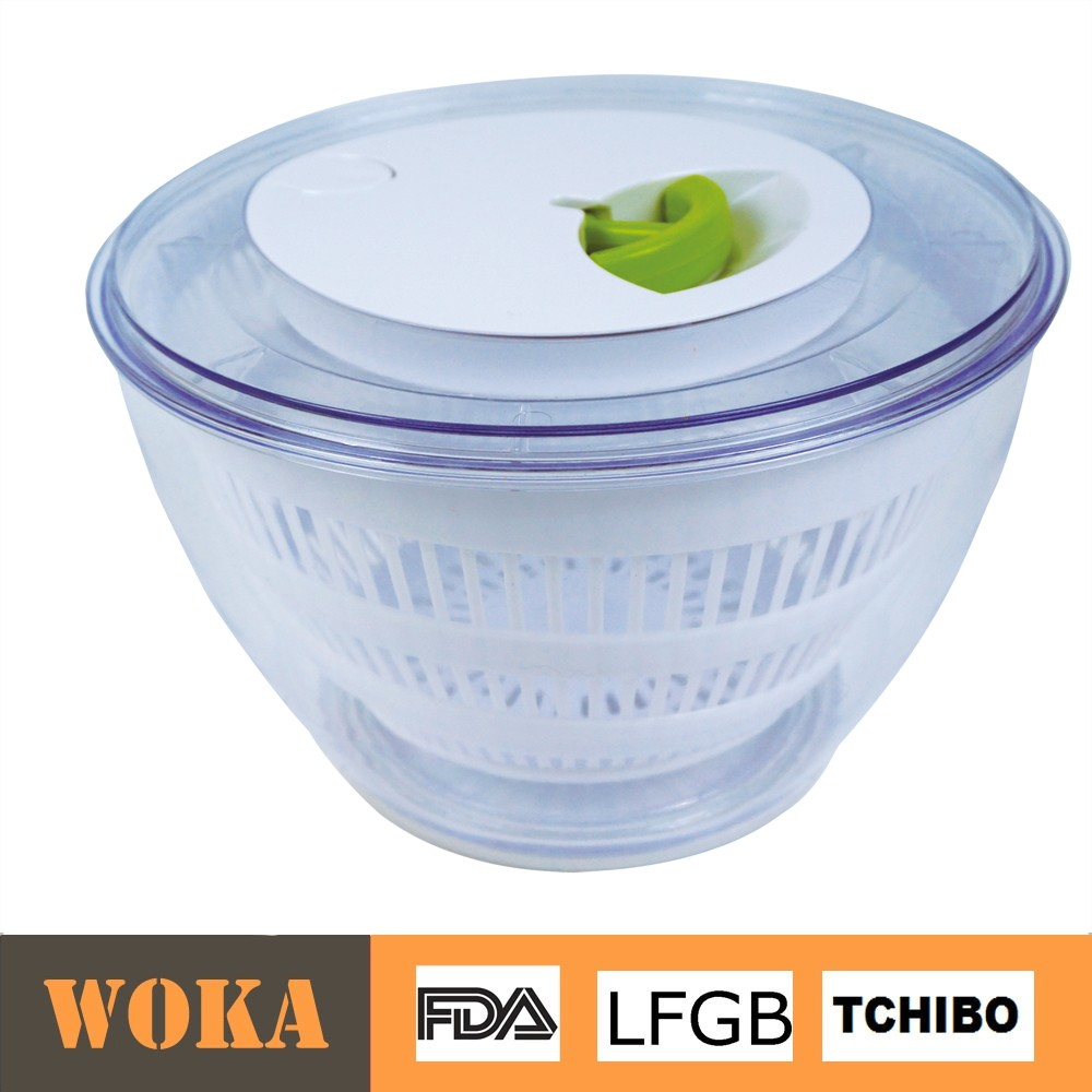 High Quality Plastic Multi-function Vegetable Spinner With Large Bowls Mixing Salad