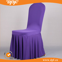 Wholesale Ruffled Polyester Office Chair Cover