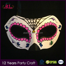 New Premium 2017 Custom Plastic Mask Hand Painted Day of the Dead Mask Paintball Mask