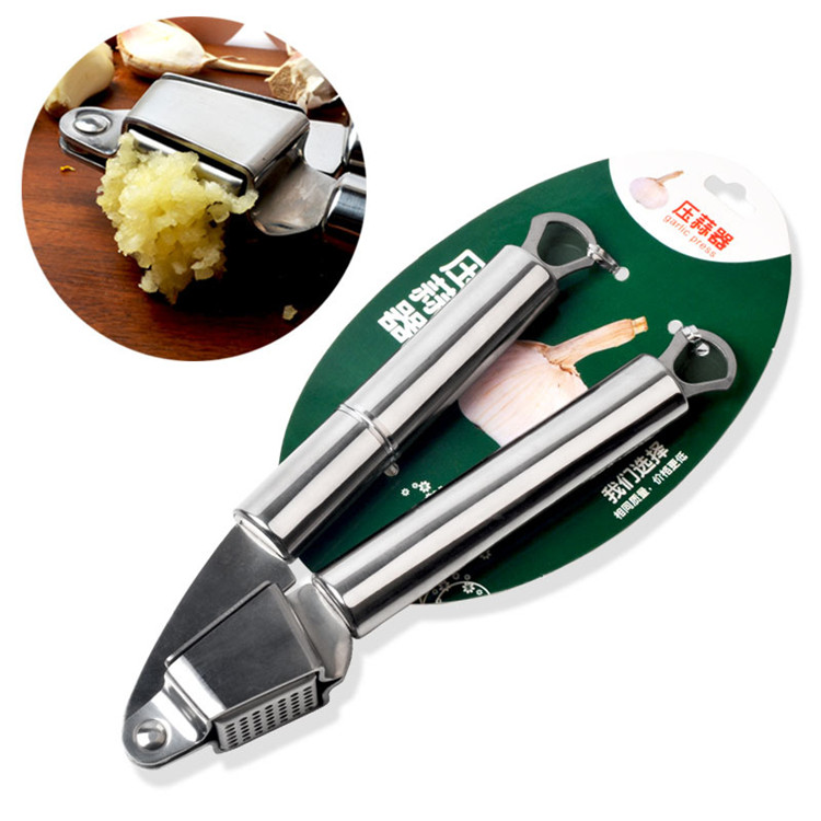 High Quality Food Grade Stainless steel Garlic Press,Mincer ,Crusher