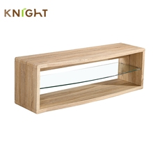 Hot modern italy living room furniture closed mini glass layer tv stands cabinet made in china