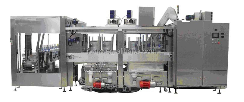 Automatic mineral water bottle filling machine plant