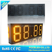 led gas price display \ led oil price display board\ led gas station panel