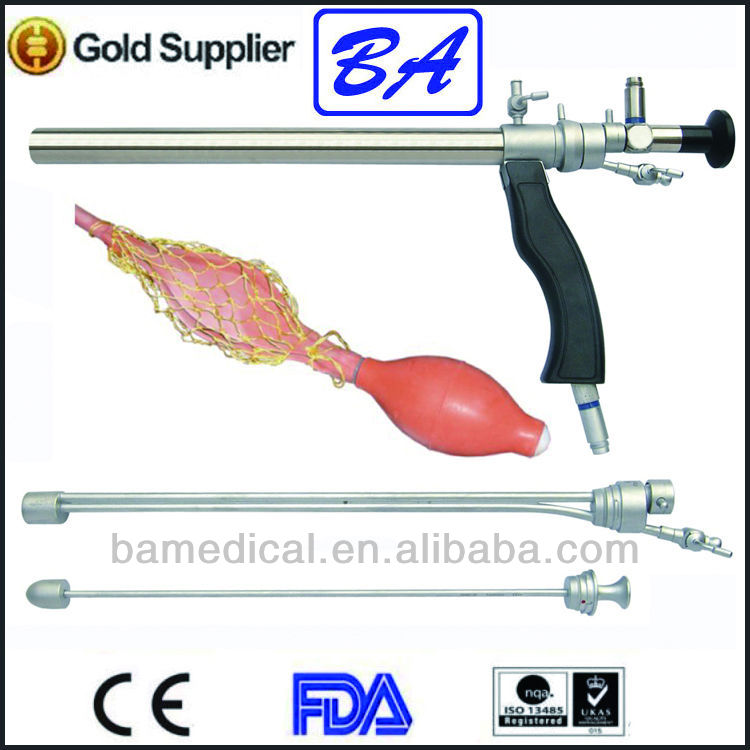 Stainless steel proctoscope medical instruments