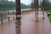 Hot sale!water proof wood plastic composite passed CE, Germany standard, ISO9001