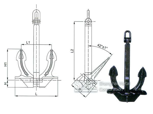 wedge anchor and marine anchor