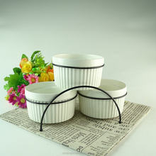 Chaozhou factory supplier STOCK cheap wholesale dinnerware ceramic tureen set soup tureen with iron stand