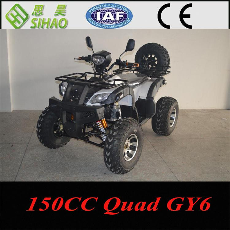 hot saling chinese 250cc atv shaft drive with spare wheel