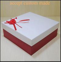 2015 yiwuhigh quality wholesale cardboard box craft paper box white paper box