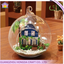 Fashion DIY glass ball doll house southern home decor