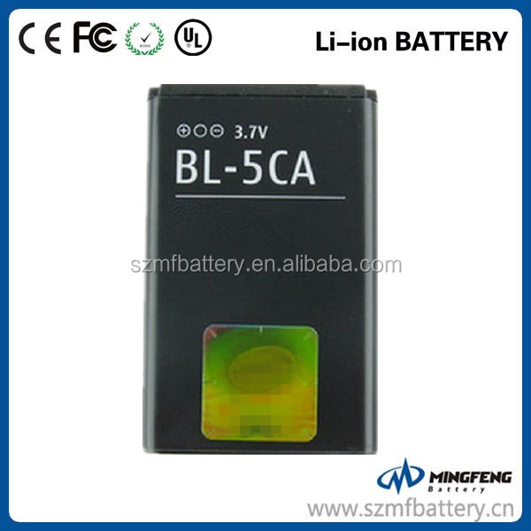 700mAh BL-5CA rechargeable replacement battery for Nokia 1108 1110 1110i 1112 1112i 1116 1200 1208 1209 1255 1680c 2112 6270