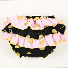 new style baby cottonruffle bloomers for kids Baby Underwear