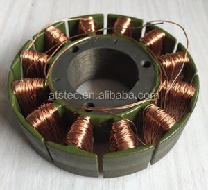motor stator and rotor laminated silicon steel