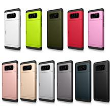 Newest Ultra-thin Wallet Case for samsung galaxy note 8 cases with card holder