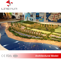 Hot 3D custom made scale models,architectural building scale model