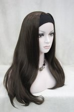"30"" Synthetic Cosplay Wig Female Hairstyle Long Curly Wavy Black Hair Wigs African American Wig"