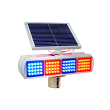 solar power led strip lights highway traffic signs warning lights
