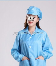 pink white yellow pink Antistatic Clothing ESD Smock/ESD Garment ,anti static cleanroom smock cloth for phone refurbish